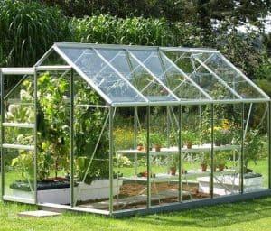 Vitavia Venus 6200 Silver Framed Greenhouse