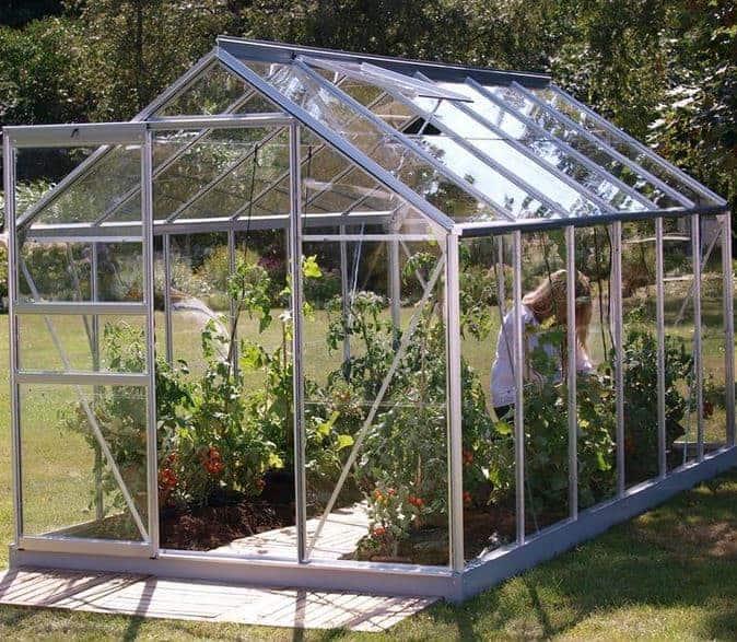 Vitavia Venus 7500 Silver Framed Greenhouse