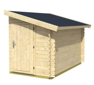 1.5m x 2.6m Lean-To Bike Shed 2600 Overall Appearance