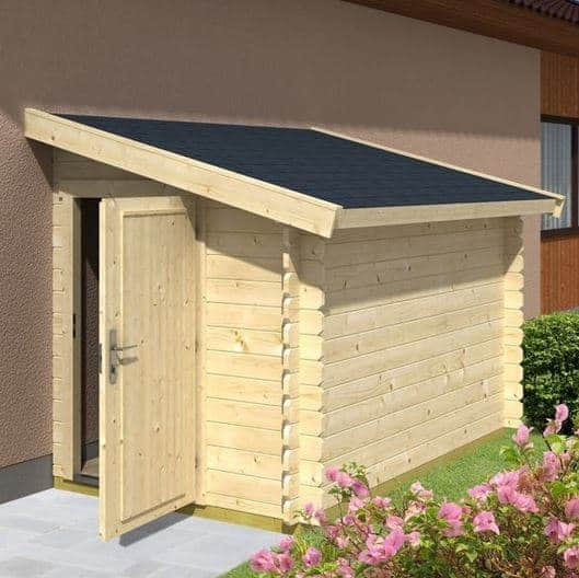 1 5m X 2 6m Lean To Bike Shed 2600 What Shed