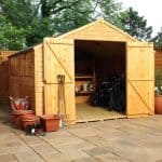 10 x 10 Waltons Overlap Apex Modular Garden Workshop