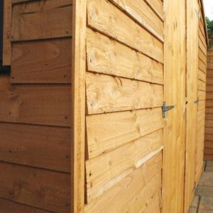 10 x 10 Waltons Overlap Apex Modular Garden Workshop Wall Cladding