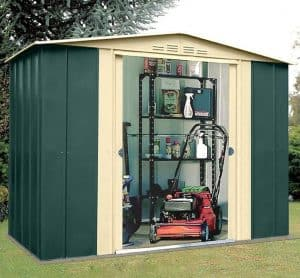 10' x 13' Shed Baron Grandale Ten Metal Shed