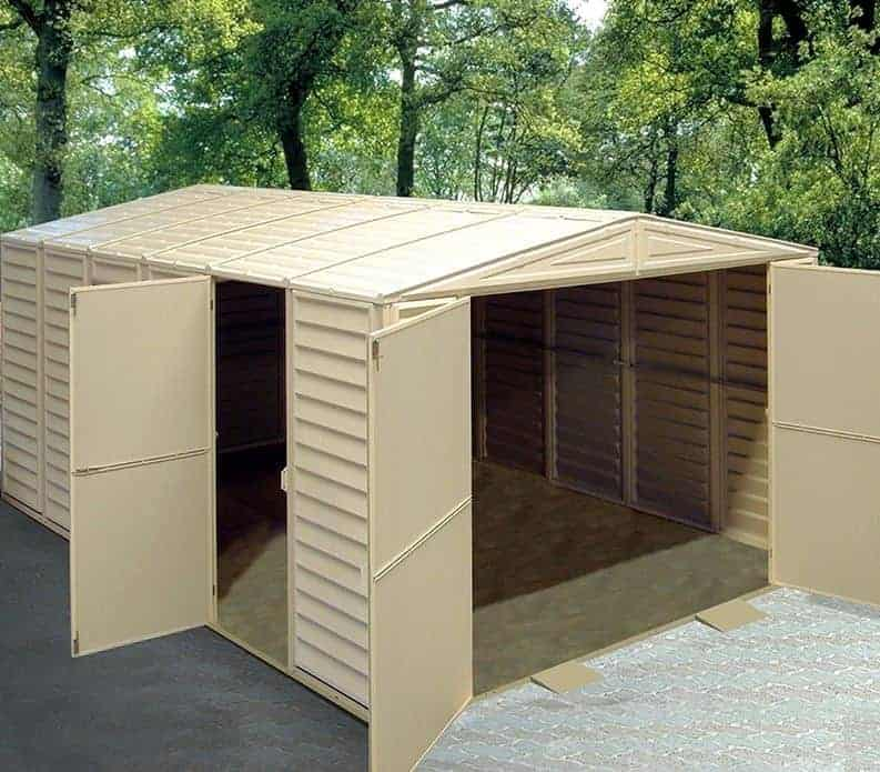 10 X 16 Duramax Vdm Plastic Garage What Shed