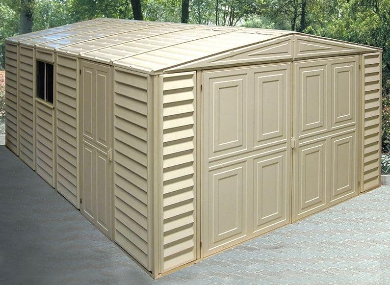 10' x 16' Duramax VDM Plastic Garage