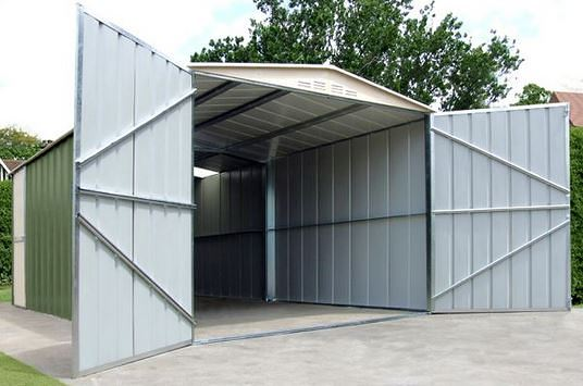 10 x 17 Store More Canberra Apex Metal Garage