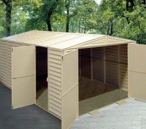 10' x 18' Duramax VDM Plastic Garage Open Doors