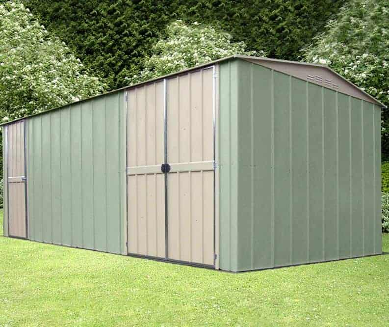 10' x 19' Shed Baron Grandale Metal Workshop