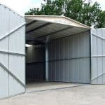10 x 19 Store More Canberra Apex Metal Garage