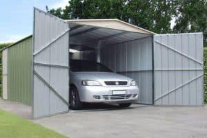 10 x 19 Store More Canberra Apex Metal Garage Open Door
