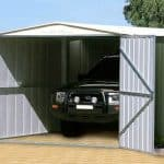 10 x 19 Store More Canberra Apex Metal Garage Side