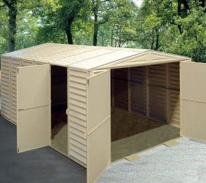 10' x 21' Duramax VDM Plastic Garage Open Doors