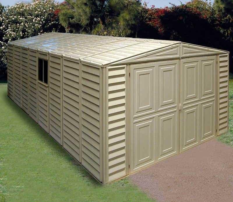 10 X 21 Duramax Vdm Plastic Garage What Shed