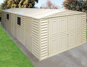 10' x 23' Duramax VDM Plastic Garage