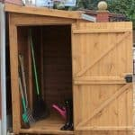 10' x 3' Traditional Pent Tool Store Shed