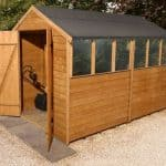10' x 6' Shed-Plus Classic Overlap DD Shed