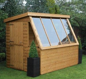 10' x 6' Traditional Potting Shed 6' Gable