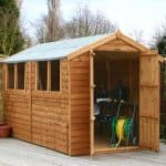 10 x 6 Waltons Overlap Apex Wooden Shed