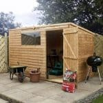 10 x 6 Waltons Overlap Pent Wooden Shed