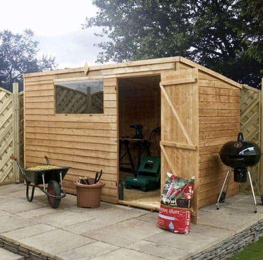 10 X 6 Waltons Overlap Pent Wooden Shed What Shed