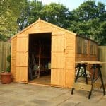 10 x 6 Waltons Tongue and Groove Apex Wooden Shed Feature