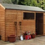 10' x 6' Windsor Overlap Reverse Apex Shed