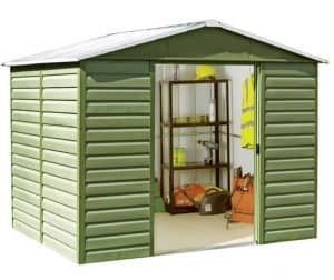 10' x 6' Yardmaster 106SL Shiplap Metal Shed Double Open Door