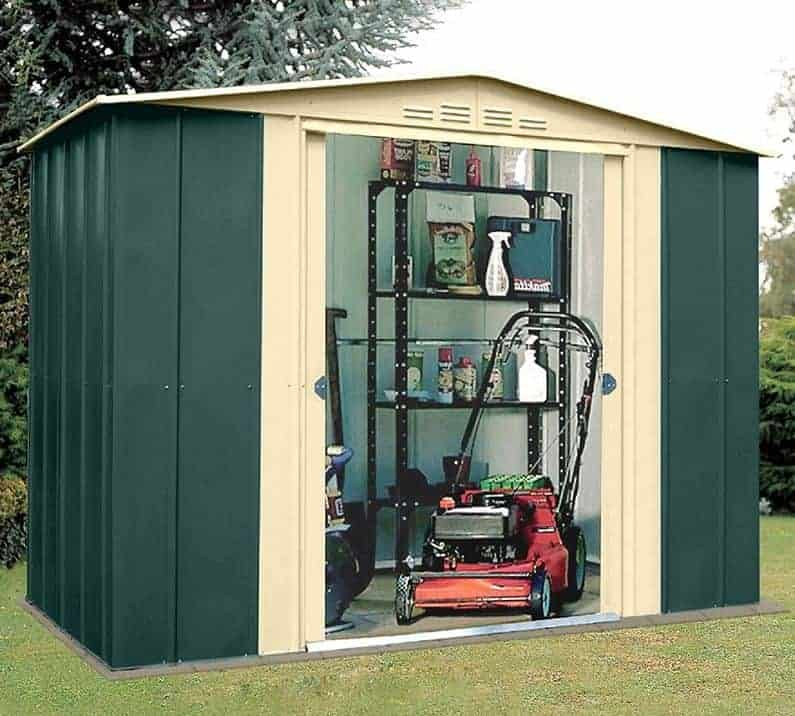 10' x 7' Shed Baron Grandale Ten Metal Shed