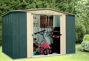 10 x 7 StoreMore Canberra Ten Apex Metal Shed