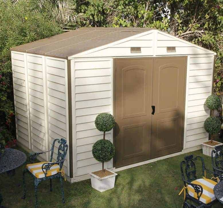10' x 8' Duramax Woodside Plastic Shed - What Shed