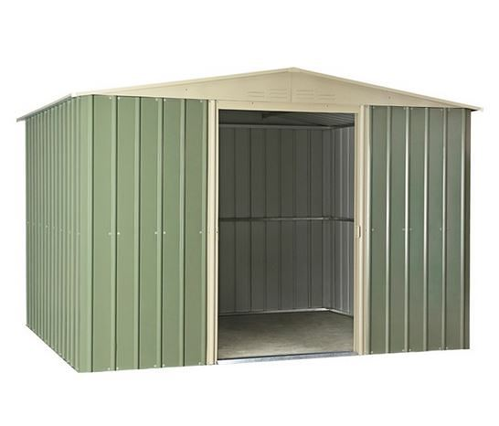 10 x 8 Lotus Apex Metal Shed