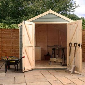 10 x 8 Mercia Ultimate Shed Front View