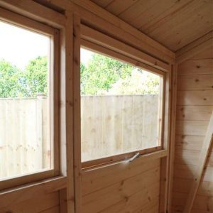 10 x 8 Mercia Ultimate Shed Inside View and Windows
