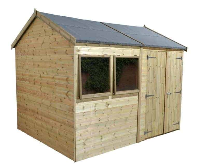 Beau 10u0027 X 8u0027 Shed Plus Champion Heavy Duty Reverse Apex Double Door Shed