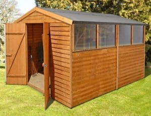 10' x 8' Shed-Plus Overlap Workshop Shed