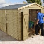 10' x 8' Shed-Plus Pressure Treated Overlap Security Shed