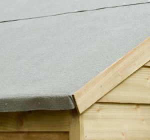 10' x 8' Shed-Plus Pressure Treated Overlap Security Shed Felt Roof