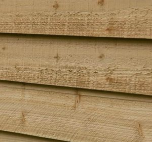 10' x 8' Shed-Plus Pressure Treated Overlap Security Shed Overlap Cladding
