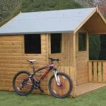 10' x 8' Traditional 8' Cabin Shed