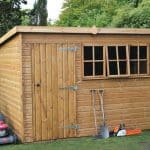 10' x 8' Traditional Heavy Pent Shed