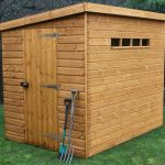 10' x 8' Traditional Pent Security Shed