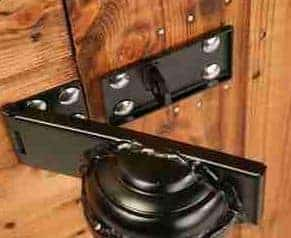 10' x 8' Traditional Pent Security Shed Lock Security