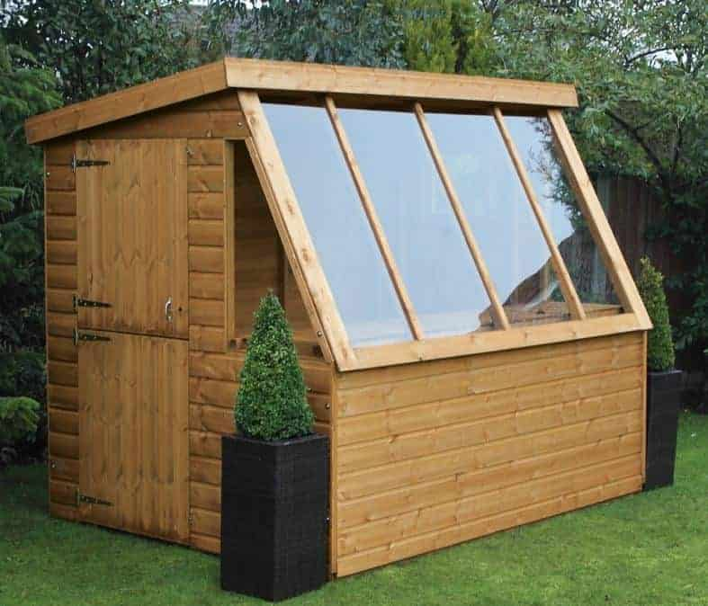 10' x 8' Traditional Potting Shed 8' Gable