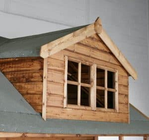 10' x 8' Traditional Swiss Cottage Playhouse Roofing