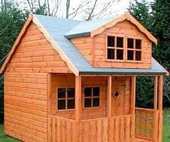 10' x 8' Traditional Swiss Cottage Playhouse