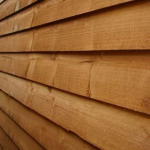 10 x 8 Waltons Overlap Apex Wooden Shed Cladding Material