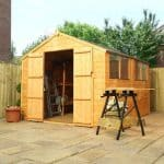 10 x 8 Waltons Tongue and Groove Apex Wooden Shed