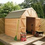10 x 8 Waltons Windowless Dutch Barn Tongue and Groove Garden Shed
