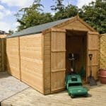 10 x 8 Waltons Windowless Tongue and Groove Apex Wooden Shed