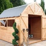 10' x 8' Windsor Groundsman Dutch Barn Shed